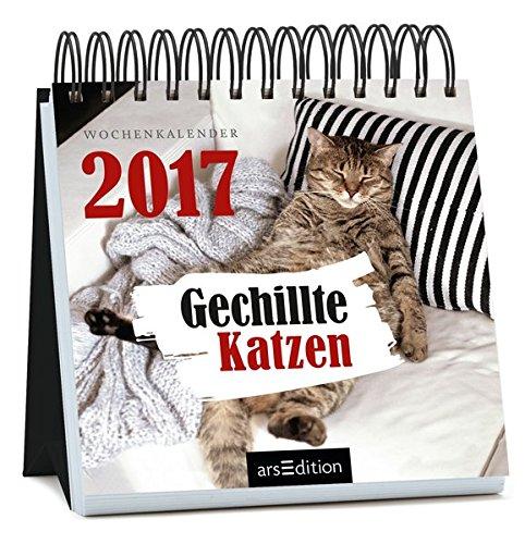 Gechillte Katzen 2017: Wochenkalender