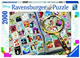 Ravensburger © Disney© Disney/Pixar© Disney. Based on The  'Winnie The Pooh' Works by A. A. Milne and E. H. Shepard.16706 Meine liebsten Briefmarken - 2000 Teile