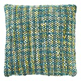 Dutch Decor Kissenhülle Chloe 45x45 petrol blau