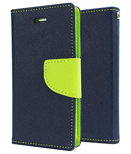 Delkart Wallet Flip Cover For Nokia Lumia 1020 (Blue)  available at amazon for Rs.189