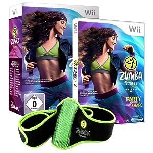 Zumba Fitness 2 (inkl. Fitness-Gürtel)