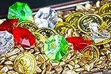 Brynnberg - Dekosteine Dekogranulat Farbkies Diamanten Goldmünzen
