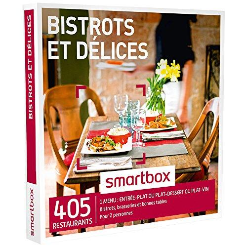 SMARTBOX - Coffret Cadeau - Bistrots et Délices - 230 Repas : Bistrots, Brasseries et Bonnes Tables
