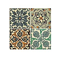 bulingbuling Decorative Tile Stickers Peel and Stick Tile Stickers Waterproof Removable DIY Tile Stickers for Kitchen Backsplash Bathroom Floor Linoleum Home Decorations Accessories(10)