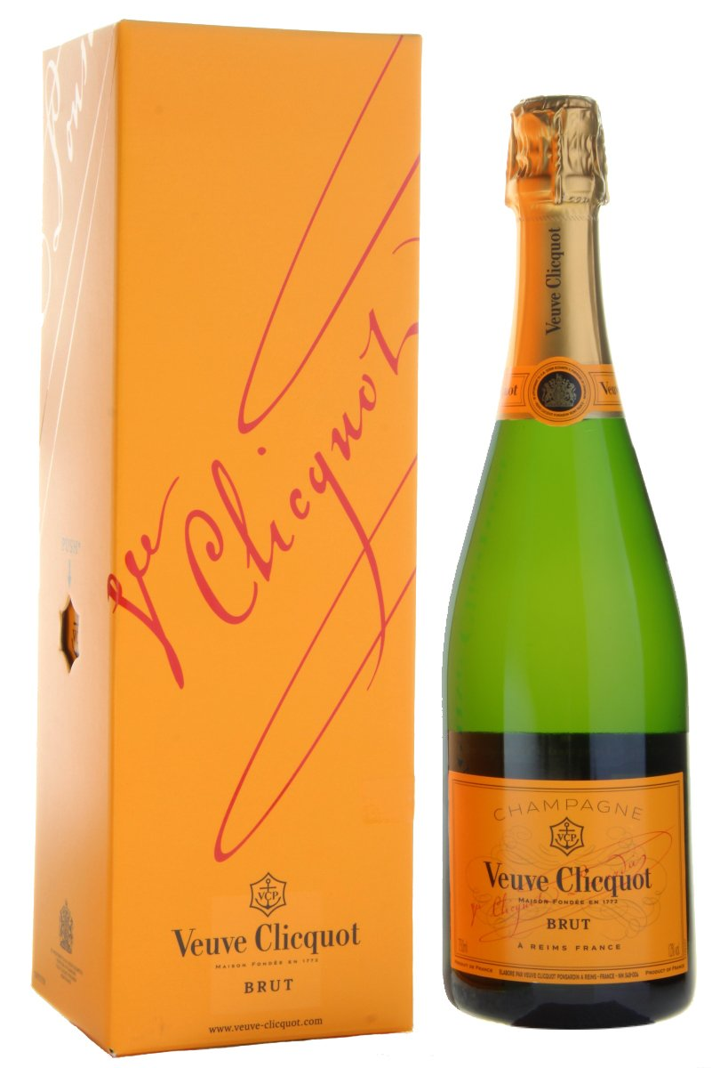 Veuve Clicquot Yellow Label NV Gift Box, 75 cl, 1080719