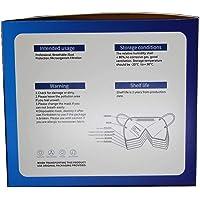 Mascherine FFP3 Certificate CE, Mascherina 5 Strati Senza Valvola, Maschera Facciale Protezione da Polvere e…