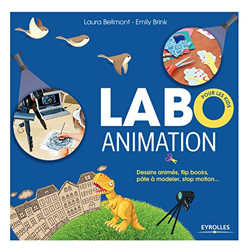 Labo animation: Dessins animés, flipbooks, pâte à modeler, stop motion...