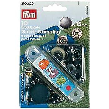 Prym Nähfrei-Druckknöpfe mit Werkzeug 15 mm brüniert 100 St  390240