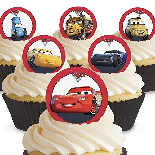 Treu Ich Liebe Links 24 Essbare Cupcake Topper Kuchen Dekoration Vorgeschnitten Tortenfiguren