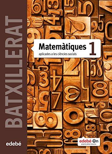 Matemàtiques Aplicades a les Ciències Socials I - 9788468320854