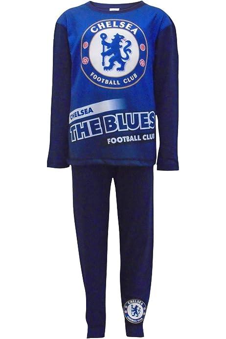 TDP Textiles Chelsea Football Club Boys 2018 Design Two Piece Pajama Set