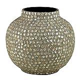 Essential Decor & Beyond en30642Perlmutt besetzt Vase