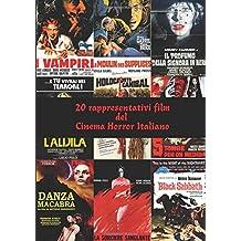 20 rappresentativi film del  Cinema Horror Italiano