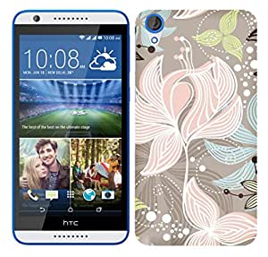 TrilMil Printed Designer Mobile Case Back Cover For HTC Desire 820