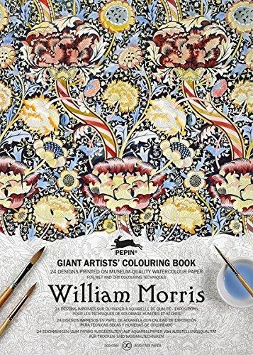 William Morris: Giant Artists' Colouring Book / A3 Kuenstler Malbuch (Giant Artists Colouring Books)