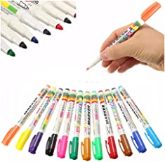 12 Colors White board Marker Pen White Board Children's Stationery Dry-Erase Pen By P Cube Solutions & Services.