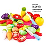 PLUSPOINT Exclusive Collection of Realistic Sliceable Fruits ,Vegetables ,Fast Food, Bakery Products,Cake,Doughnuts for…