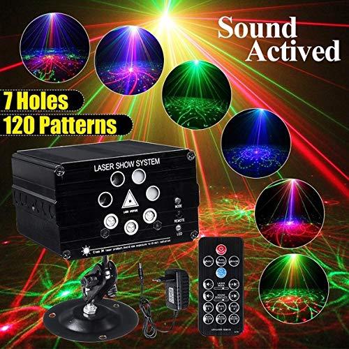 TISESIT LIGHT Super Disco Lights Bühnenbeleuchtung DJ Party Licht Sound Actived Farbe Beleuchtung Bühne Für Tanz Weihnachten Danksagung KTV