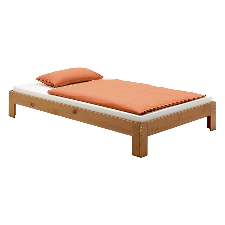 Futonbett 120x200 mit lattenrost und matratze affordable full size of matratzen lattenroste - Einzelbett poco ...