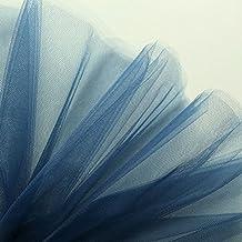 Azul marino Fine neta tela de tul 300cm de ancho–se vende por metro–adecuado para novia, Underskirt, velo, pleating & ruching