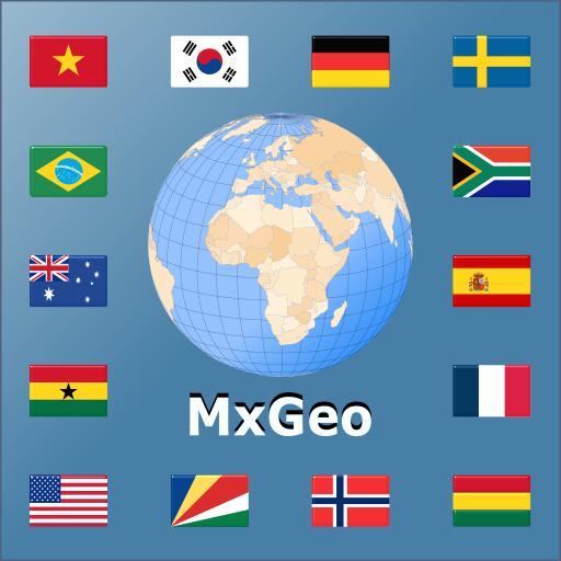 Atlas du monde | Carte du monde | Lexique pays MxGeo Pro