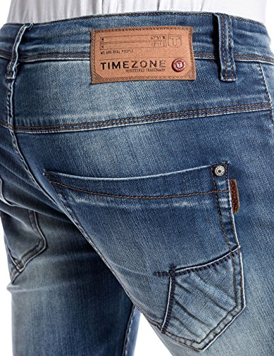 Timezone Costellotz, Jeans Homme Bleu - Blau (field wash 3213)