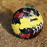 #3: SYN6 Football !! Launch Offer !!, Street Soccer Ball, Made with recycled tyre, Excellent for Concret and Hard grounds