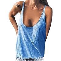 Xmiral T-Shirt da Uomo a Maniche Corte Canottiera Smanicata da Palestra da Uomo #361