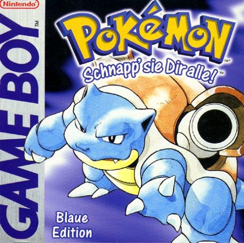 Pokémon - Blaue Edition (Gelb Pokemon)