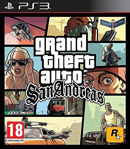 GTA SAN ANDREAS PS3 UK