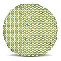 Retourne à la swinging 60's avec ce Mod rétro motif de vert et de feuilles multicolores. Excellent pour tout amateur de Mod.Ce beau coussin de décoration d'intérieur est si doux et moelleux, vous ne peut pas résister caressant elle. Un excellent ajo... [Méridienne]