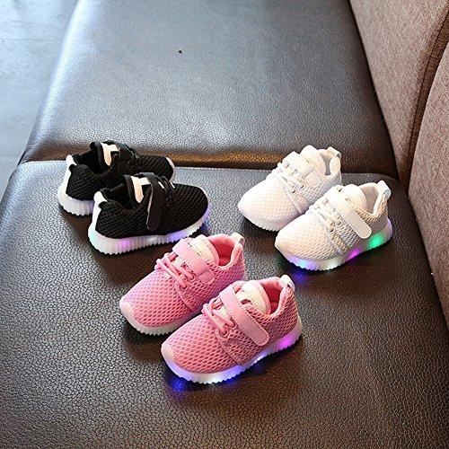 Chaussures LED enfants chaussures légères stillshine - Garçon filles clignotant Sport Running Sneakers Baby Shoes Halloween cadeau de Noël