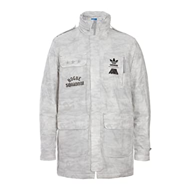Adidas Star Wars Rogue Squadron Jacket, White Size: S