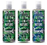 Faith in Nature Tea Tree Shampoo, conidtioner & Shower Gel Trio