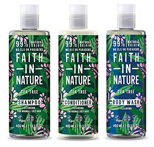 Faith In Nature - Tee Baum Shampoo , Shampoo und Dusch Gel