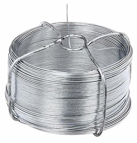 GAH-Alberts 530020 - Bobina di filo di ferro 0,8 - 50 m Zincato