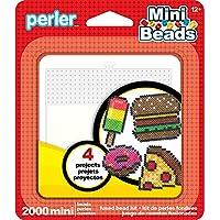 Perler Mini Fused Bead kit-food, otros, multicolor