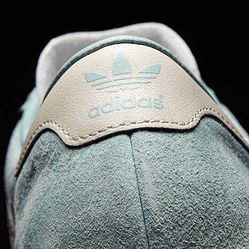 Adidas Hamburg. Scarpe Donna. Sneaker. Loe -Top. Vari Colori Tactile Green s17