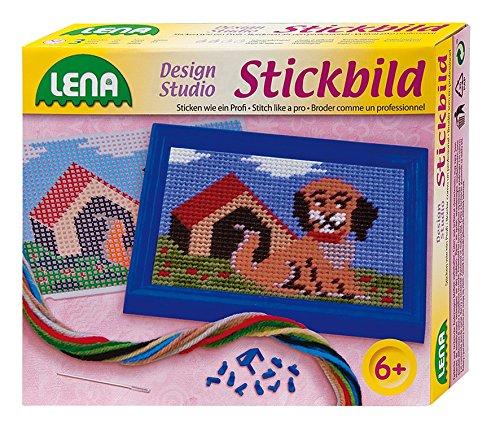 Lena 42603 - Stickbild Hund