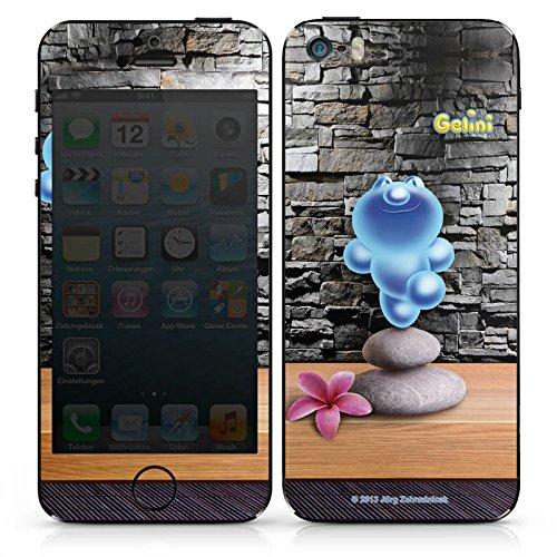 Apple iPhone 5s Case Skin Sticker aus Vinyl-Folie Aufkleber Gelini Gummibärchen Steine DesignSkins® glänzend