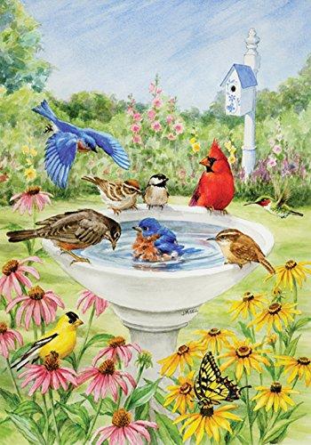 toland-home-garden-eintauchender-vogel-bunt