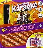 Coffret Karaoké Vol.1 Années 80 (5DVD+Micro+CD) [Import italien]