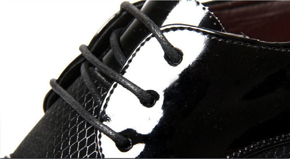 F Fityle 2 Pezzi Lacci Anti-Allentamento Elegante Acccessorio Scarpe Per Regalo Donna Uomo 24-30 cm Perle nere beige