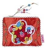 Souza For Kids - 2458 - Accessoire Déguisement - Sac Marianne avec de Luxe Fleur - Rouge