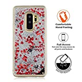 Likesea Samsung Galaxy S9 Plus Coque, Luxe Quicksand Liquide étincelant Flash Cute...