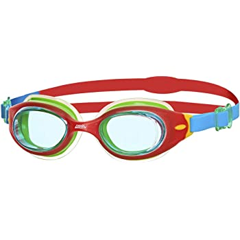 89d4d40ddda9 Zoggs Kids Little Sonic Air Cushion Swimming Goggles - Red