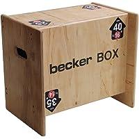 Becker-Sport Germany Becker Box XS Novità mondiale, scatola 5 in 1 (BSG 28951) con 5 altezze di salto.