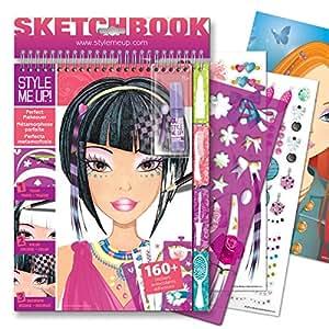 Medium Sketchbook - Hair & Makeup