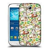 Offizielle Micklyn Le Feuvre Meerschweinchen Und Gänseblümchen Und Aquarell Muster 2 Ruckseite Hülle für Samsung Galaxy S3 III I9300