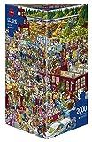 Heye Puzzle in Scatola Triangolare Schone Flea Market, 2000 Pezzi, VD-29796